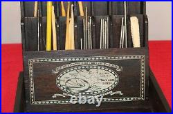 1919 Vintage Crochet hook Store Display from Boye Needle Company