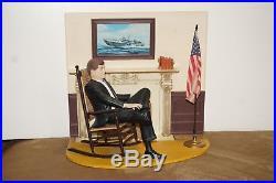 1965 JOHN F KENNEDY Built Up STORE DISPLAY Figure MODEL Kit AURORARARE Vintage