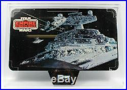 1981 ESB HOTH / STAR DESTROYER STORE DISPLAY HEADER Vintage Star Wars Kenner