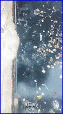 Ancienne plaque emaillée MICHELIN BIBENDUM, tracteur, loft, usine, vintage
