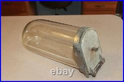 Antique Glass Panay Horizontal Show Jar Candy Store Counter Top Display