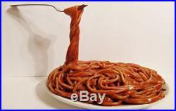 Antique Vintage Fake Food Pop Art Frozen Moments Pasta Store Display Prop