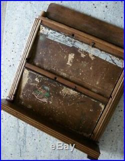 Antique Vintage Parker Vacumatic Fountain Pen Store Display Case Original Rare