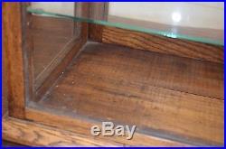 Antique vtg Original Store Display Gum Case Showcase counter top General Store