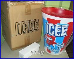 BIG ICEE Slushy Light Store Advertising Display In Box LN Polar Bear Complete