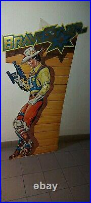 Bravestarr STORE DISPLAY 130 CM Marshall Mattel Vintage DEADSTOCK