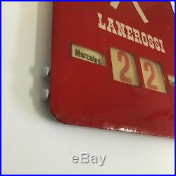 Calendario Perpetuo Pubblicitario Lanerossi Vicenza Vintage Anni 60-70