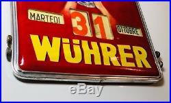 Calendario Perpetuo Vintage Birra Wuhrer Roy Vercelli Funzionante