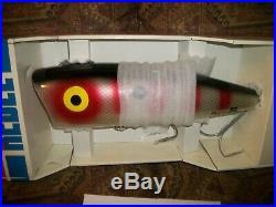 GIANT REBEL POP-R Fishing Lure Store Display MINT in ORIGINAL BOX