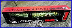 Giant Jointed Store Display Fishing Lure By Rapala In Box 26 1/2 Long
