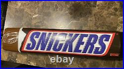 Giant Snickers Bar 32 Inch Vintage Store Display Large Candy Store Chocolate