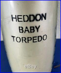HEDDON LURE STORE DISPLAY BABY TORPEDO GIANT body 19