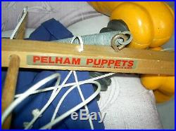 HUGE 4' Store display, vintage labeled, PELHAM Disney, GOOFY, Marionette Puppet