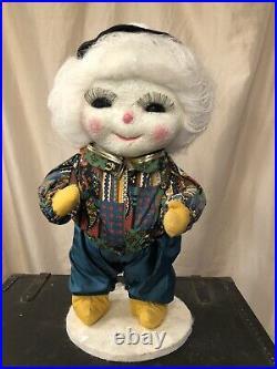 Harold Gale Snow Baby Babies Christmas Store Display Vintage