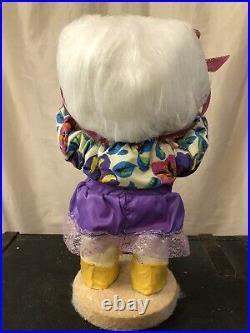 Harold Gale Snow Baby Vintage christmas Store Display