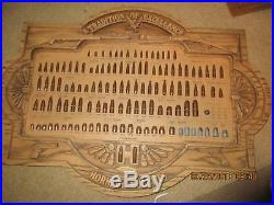 Hornady Vintage Bullet Cartridge Store Display Board, Excellent Condition
