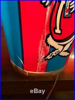 Icee Sign Display Vintage Light Cup Advertising Polar Bear