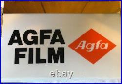 Insegna Luminosa Agfa Film Anni 60 Originale Vintage
