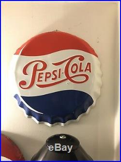 Insegna Pepsi 46cm Schild Sign Plaque Vintage Coca
