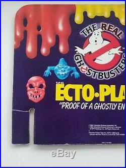KENNER The REAL Ghostbusters vintage AUTHENTIC Ecto-plazm store display pieces