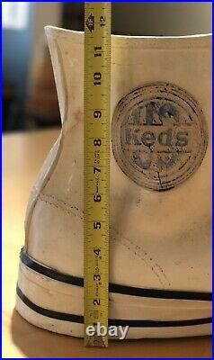 Keds Shoes USA Giant Plaster Store Display Vintage