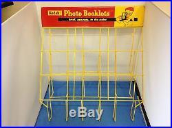 Kodak Photo Booklets Organizer Store Display Rack Vintage Original Kodak Rack