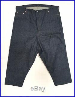 Levis 501 Big E Jeans Red Tab Store Display Pants 54X25 Vtg Denim Costume Vtg