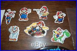 Mario Mania Mobile M30MA Hanging Store Display Sign Nintendo NES Vintage 1993