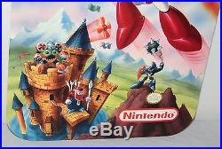 Mega Man 6 Star Tropics 2 Store Display Sign Poster Promo Vintage Nintendo NES