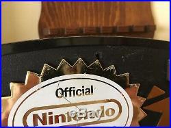 NES Nintendo Vintage Sign World Of Nintendo Store Display Authentic Rare