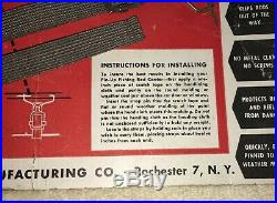 NOS Roof Headliner Fishing Pole Holder Vintage Interior Accessory Rod Carrier