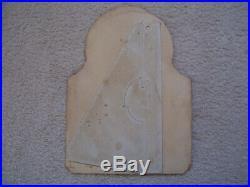Nice Vintage Heddon Vamps Fishing Lure Cardboard Die Cut Store Display Used