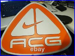 Nike ACG Store Display Sign Large Vtg Vintage Y2k 2000s Plastic Advertisement