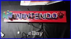 Nintendo 64 Store N64 Room Display Neon Light Lighted SIGN High