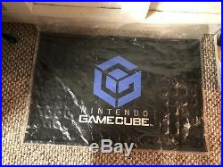 Nintendo Gamecube GC rare Vintage video game display store slip mat NEW unopened