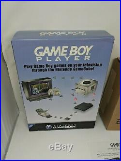 Nintendo Gamecube Gameboy Advance Player Light-up Store Display Sign Standee VTG