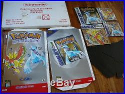 Nintendo Store Sign Display Pokemon Gold Silver Rare Vintage Original Unused