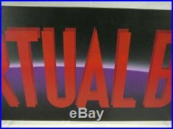Nintendo Store Sign Display Virtual Boy Rare Vintage Original Employee Owned