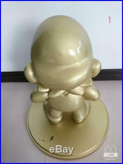 Nintendo Super Mario Gold Figure Store Display Novelty statue vintage