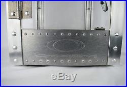 OAKLEY VINTAGE RARE METAL ALUMINUM DISPLAY CASE 16x12.5x12.5 WITH KEY