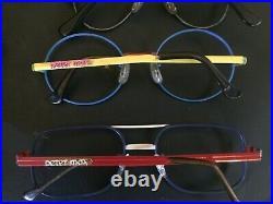 PETER MAX VINTAGE 1970 EYEGLASSES STORE DISPLAY With8 PAIR GLASSES ONE OF A KIND
