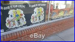 Pair of Curtiss Candy 1950's Halloween Store Displays Advertising, Vintage Decor