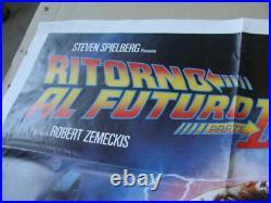Poster Original Ritorno Al Futuro II Vintage Back To The Future II Michael J Fox