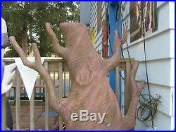 RARE VINTAGE KEEBLER ELF HOLIDAY TREE SUPERMARKET STORE DISPLAY1960s 4-5 FT TALL