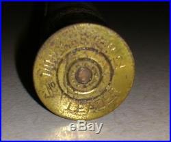 Rare 1898 Winchester Store DUMMY Shotgun Shell Advertising Gunpowder Display