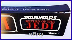Rare! 1983 Vintage Kenner Star Wars Rotj Action Figure Store Shelf Display