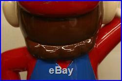 Rare 4' Vintage Nintendo Super Mario Bros Video Game Store Display Promo Statue