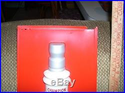 Rare 70's Large Vintage Plastic Champion Spark Plug Store Display & 3-D Sign