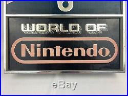 Rare Nintendo NES Vintage Clock Store Display Sign Super Mario Bros. 2 Tested