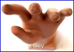Rare Vintage Cisco Gloves Advertisement Glove Hand Mannequin Store Display